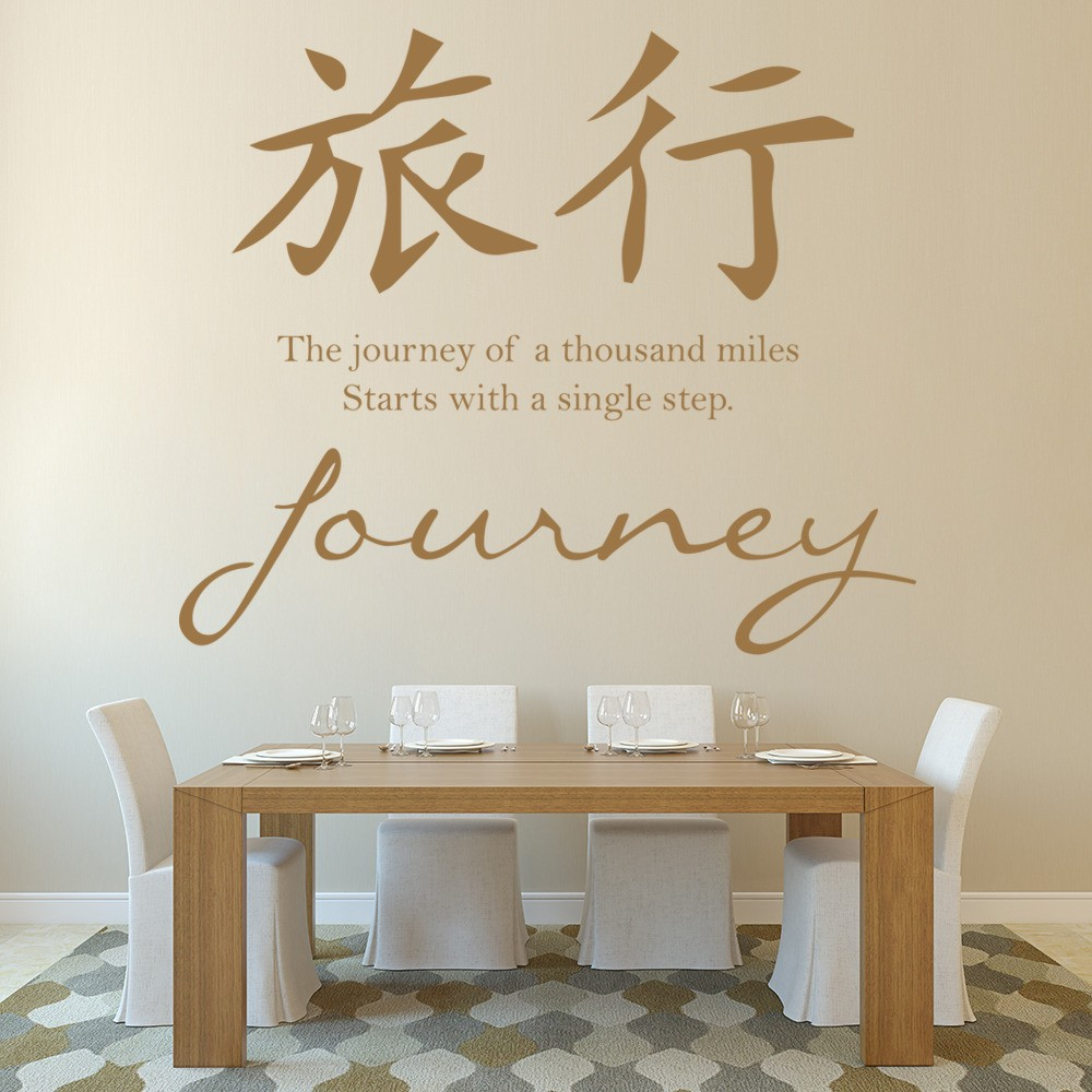 Chinese Proverb Wall Stickers | Iconwallstickers.co.uk