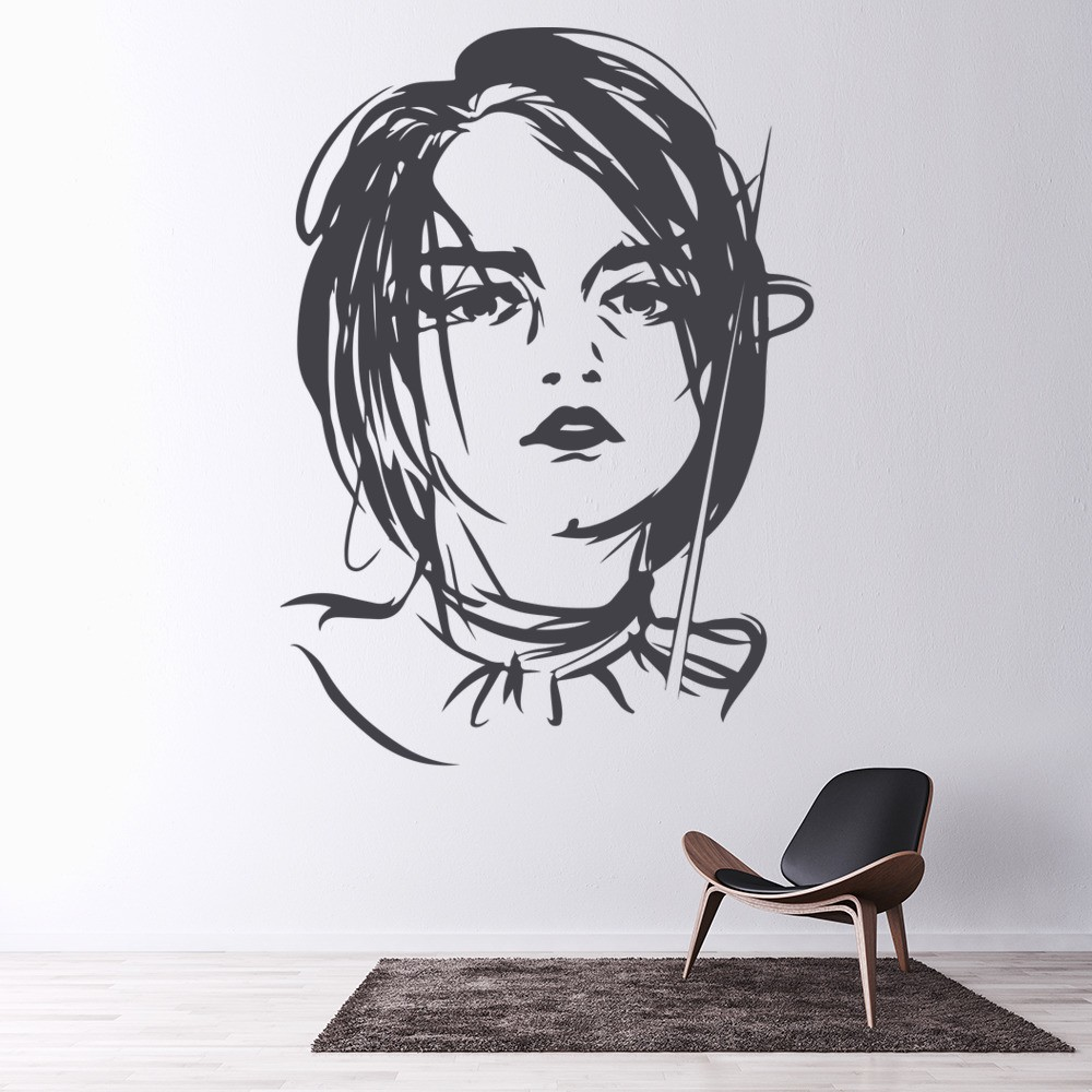 Game Of Thrones Wall Art game of thrones arya wall sticker game of thrones wall art