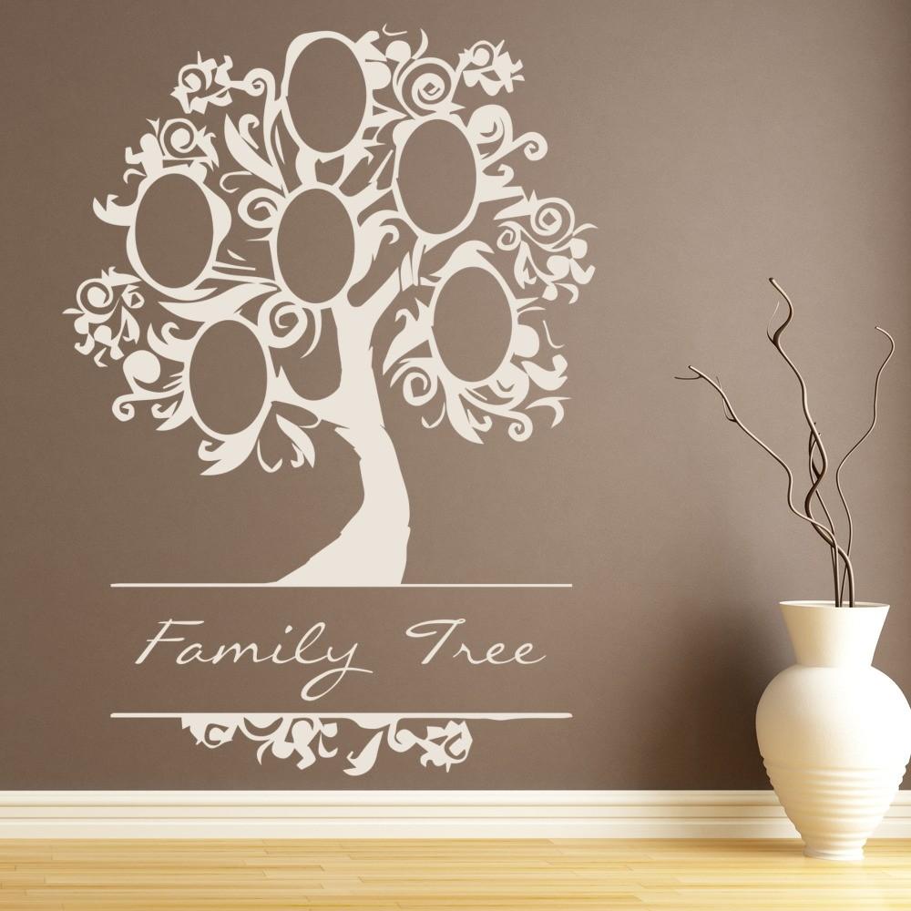 Elegant Family Tree Wall Sticker Family Wall Art