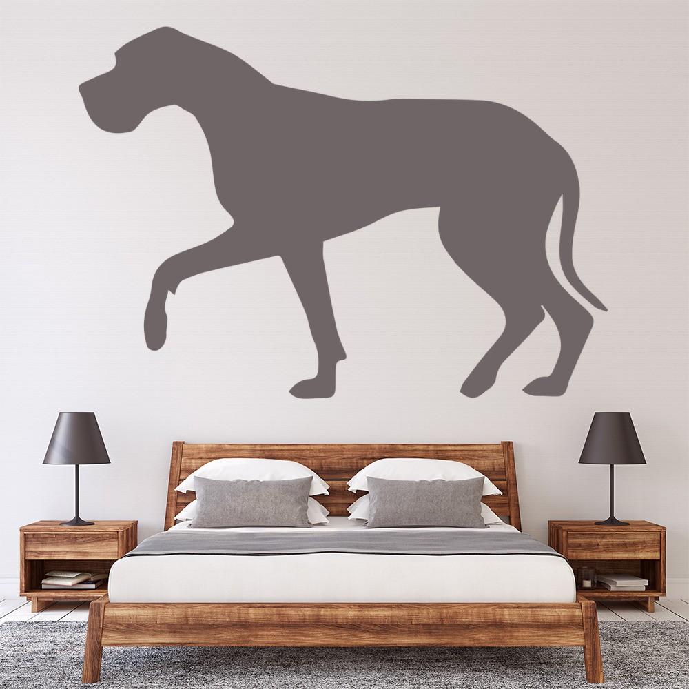 Great Dane Wall Sticker Dogs Pets Wall Decal Kids Vets