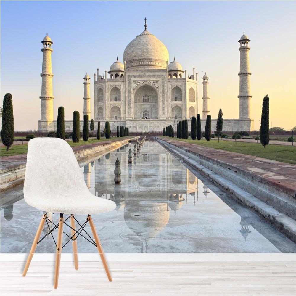 Wallpaper For Kitchen India: Morning Taj Mahal India Wall Mural Wallpaper