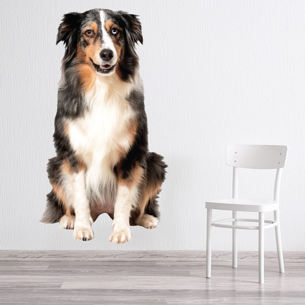 Shop Dog Wall Stickers - Icon Wall Stickers