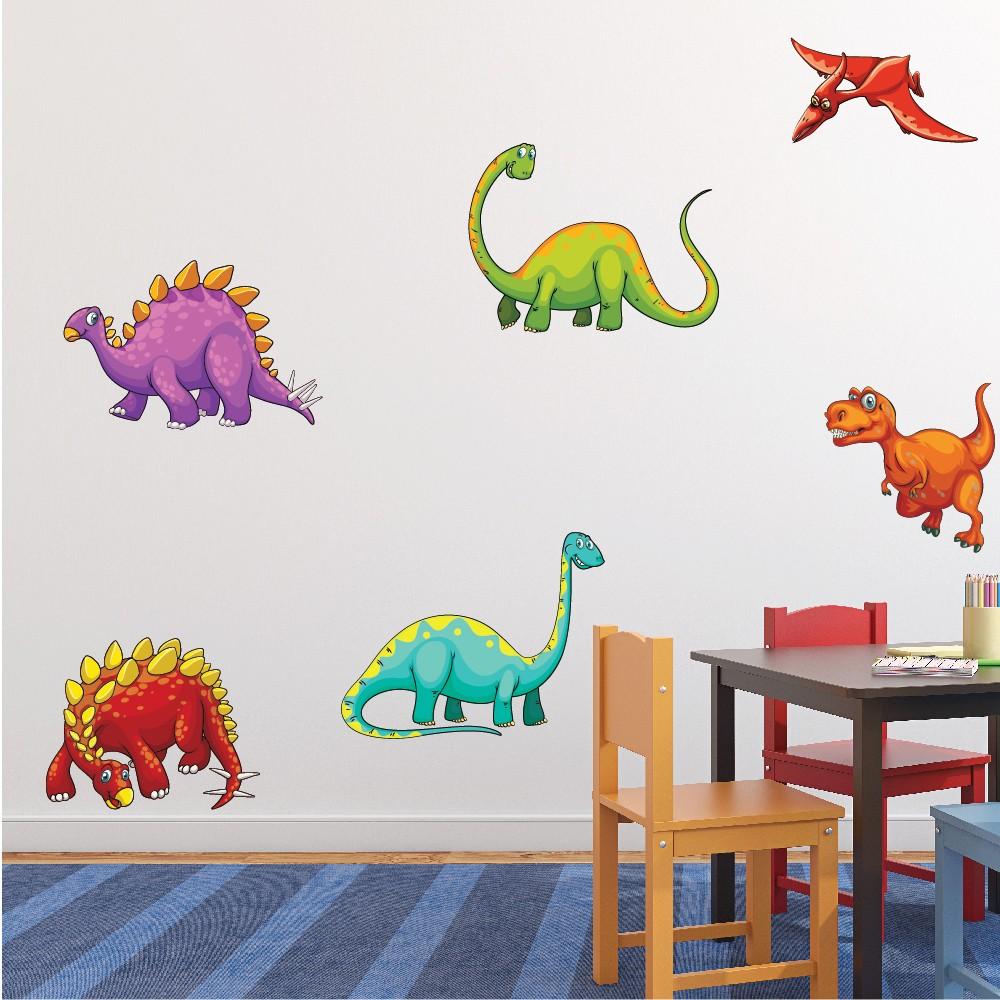 Fun Dinosaur Jurassic T Rex Wall Sticker Set
