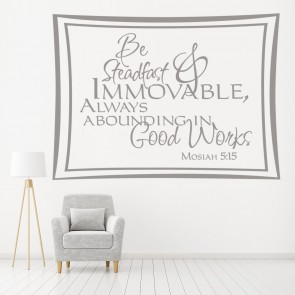 Mosiah 515 Religious Quotes Wall Stickers Home Decor Art Decals