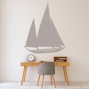 Boats Sailing Wall Stickers Iconwallstickerscouk - Decals for boats uk