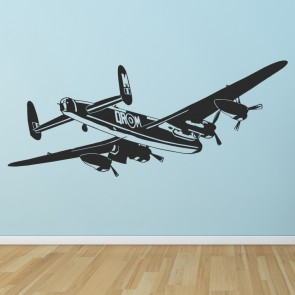 Bomber Aeroplane Wall Sticker RAF Fighter Airplane Wall Decal Boys Bedroom Decor & Planes Wall Stickers | Iconwallstickers.co.uk