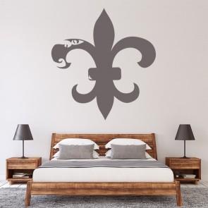Fleur De Lis Floral Decorative Patterns Wall Stickers Home Decor Art Decals Part 30