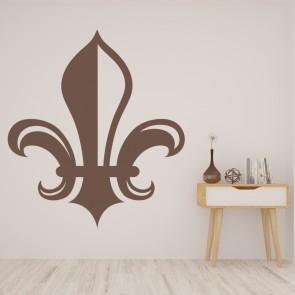 Great Fleur De Lis Shadowed Decorative Patterns Wall Stickers Home Decor Art  Decals Part 15