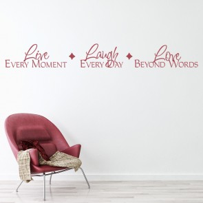 Love Wall Quotes Inspiration Love Quotes Wall Stickers  Iconwallstickers.co.uk