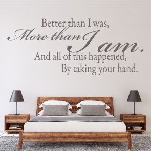 Romantic Text Love Quotes Wall Stickers Home Art Decals Part 68