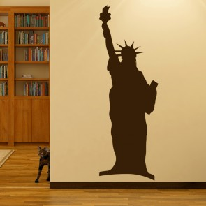 Statue Of Liberty New York City America USA Wall Stickers Home Decor Art  Decals Part 58