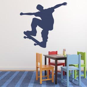 ef066f7b8b0d Jump Skateboard Extreme Sports Wall Sticker