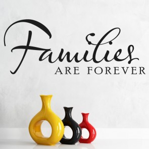 Families Are Forever Family U0026 Friends Quotes Wall Stickers Home Decor Art  Decals Part 87