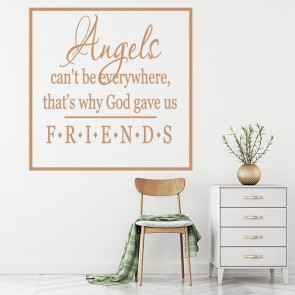 Angels Canu0027t Be Everywhere Family U0026 Friends Quotes Wall Stickers Home Art  Decals Part 69