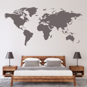 School educational wall stickers iconwallstickers world map wall sticker educational wall decal office bedroom school home decor gumiabroncs Gallery