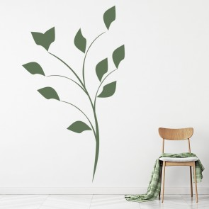 Floral Flowers Trees Foliage Wall Stickers Iconwallstickers
