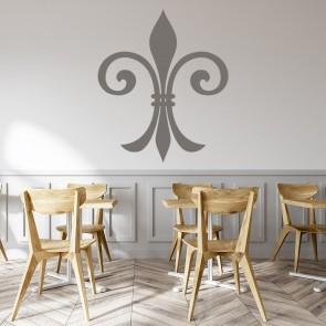Fleur De Lis Narrow Decorative Patterns Wall Stickers Home Decor Art Decals Part 16