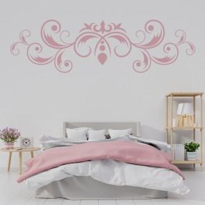 Leaf Swirl Fleur De Lis Floral Design Wall Stickers Home Decor Art Decals Part 82