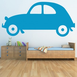 Classic Car Wall Sticker Transport Wall Decal Boys Bedroom Nursery Home  Decor