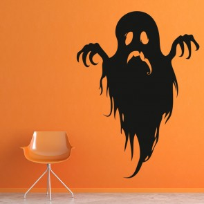 scary ghost ghoul haunted halloween wall stickers seasonal home decor art decals