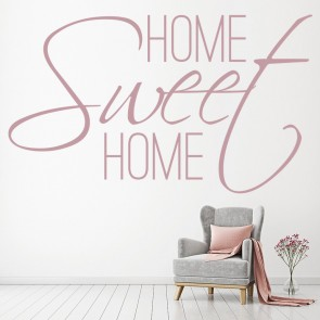 Home Sweet Home Wall Sticker Family Quote Wall Decal Kitchen Living Room Decor & Family Quotes Wall Stickers | Iconwallstickers.co.uk