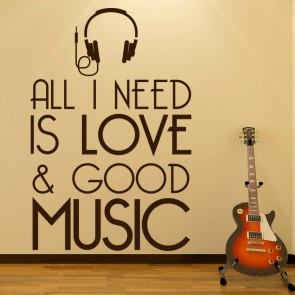 Shop Song Lyric Wall Stickers - ICON