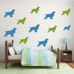 Dachshund Dog Wall Sticker Pack WS-33062