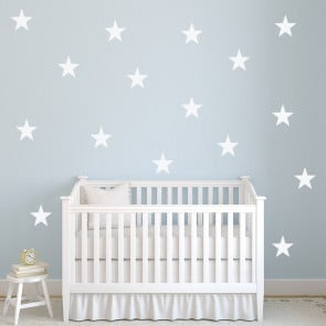 Five Point Star Planets And Space Creative Multipack Wall Stickers Home  Decals Part 85