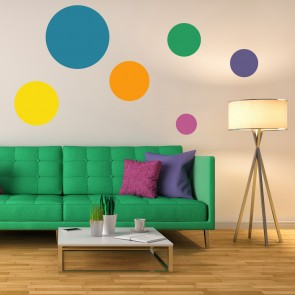 Circle Spot Dot Decorative Patterns Creative Multipack Wall Stickers Art  Decals Part 93