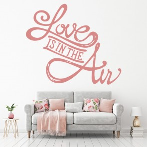 Love Is In The Air Wall Sticker Quote Decal Kitchen Bedroom Home Decor