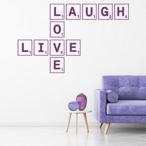 Shop Scrabble Tile Quote Wall Stickers Icon Wall Stickers