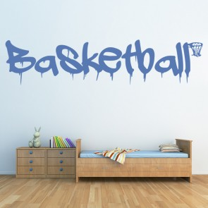 Basketball Sport Wall Sticker Basketball Quote Wall Decal Kids Sports Home  Decor