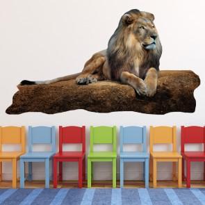 Lion King Wall Sticker Jungle Animal Wall Decal Kids Bedroom Home Decor Art Part 95