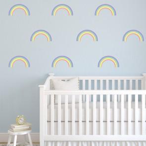 Rainbow Wall Sticker Childrens Wall Decal Kids Room Nursery Home Decor Part 61