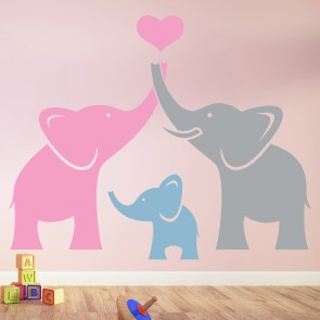 Baby Girl Nursery Wall Art Stickers wall stickers for baby girls | girl wall art with 30+ colours of