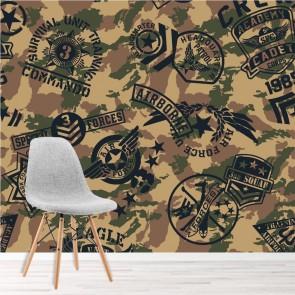 Army Kids Wall Murals