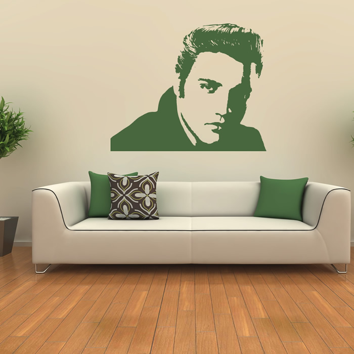 Elvis Presley Music USA Icons & Celebrities Wall Stickers Home Decor Art Decals