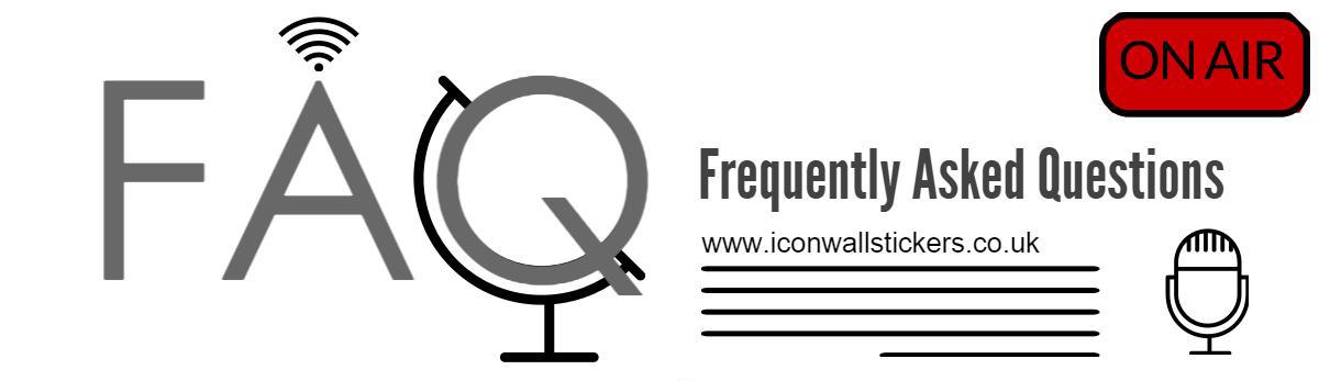 FAQ Icon Wall Stickers