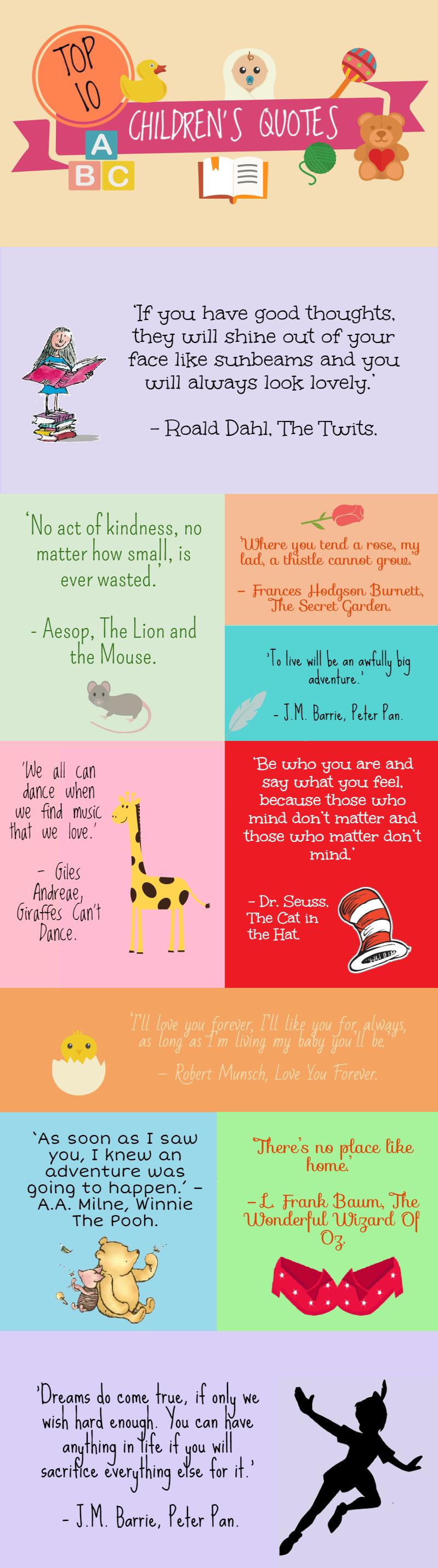Classic Children S Book Quotes