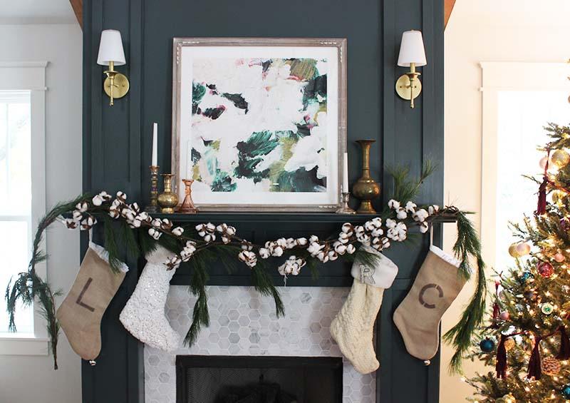 christmas mantel - Christmas Blogs